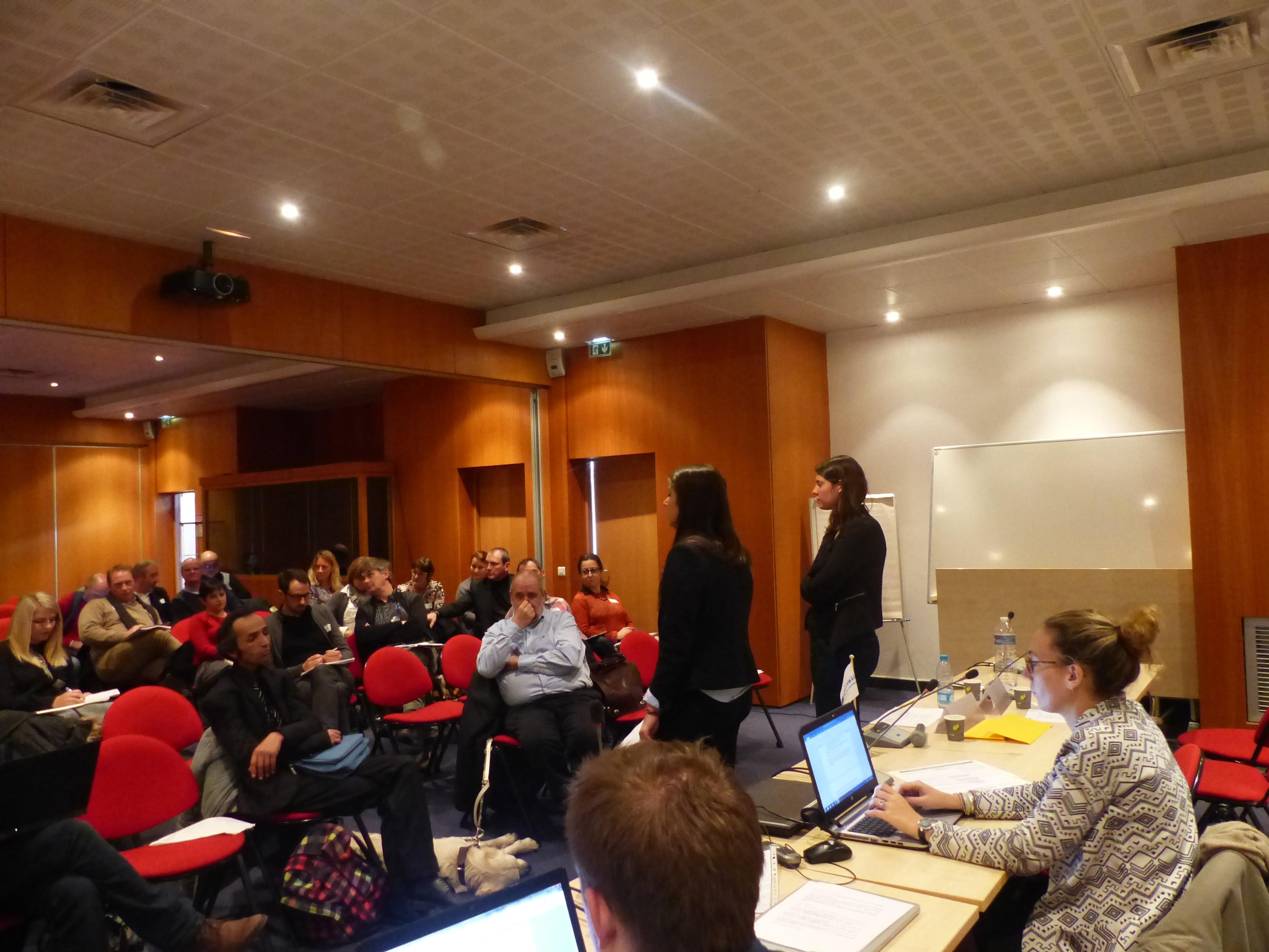 Atelier lors du lancement du projet ISAID
